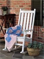 Seaside Casual Traditional Porch Rocker (035)